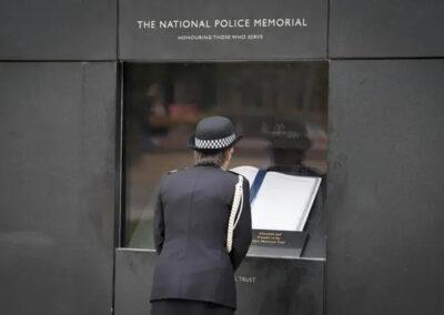 Dame Cressida Dick DBE QPM at the National Police Memorial