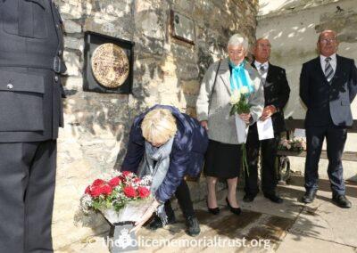 PC Norman Garnham Unveiling Ceremony 2