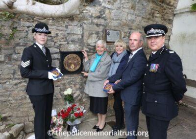 PC Norman Garnham Unveiling Ceremony 5
