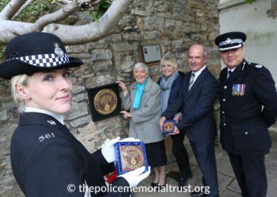 PC Norman Garnham Unveiling Ceremony 6