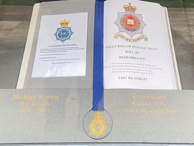 Police Roll of Honour Trust Roll of Remembrance