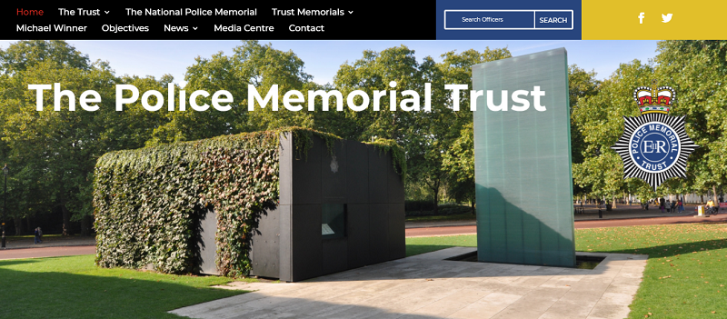The National Police Memorial during the Day