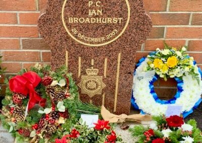PC Ian Broadhurst Memorial Stone