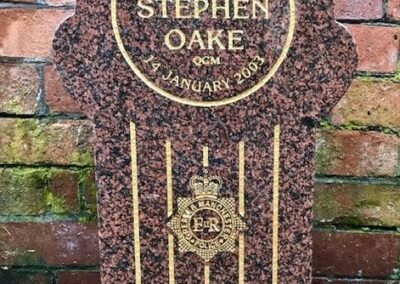 DC Stephen Oake Memorial Stone