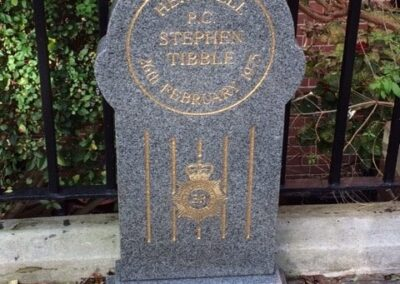 PC Stephen Tibble QPM Memorial Stone