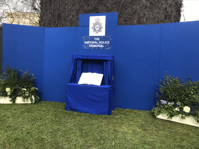 Temporary National Police Memorial