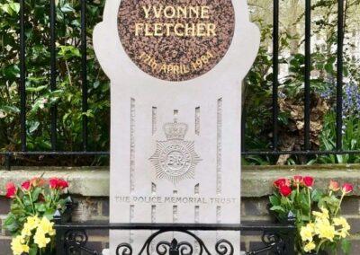 WPC Yvonne Fletcher Memorial Stone
