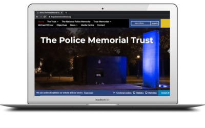 Trust's new website featured in national NARPO February newsletter